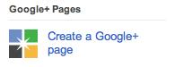 Add A Google+ Page